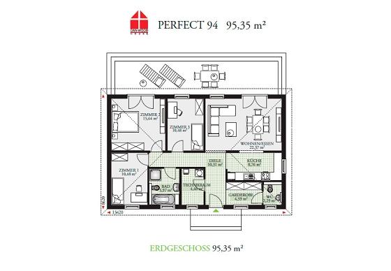 ein bungalow g nstig bauen. Black Bedroom Furniture Sets. Home Design Ideas